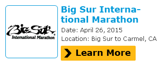 Register Here For Big Sur Marathon 2015